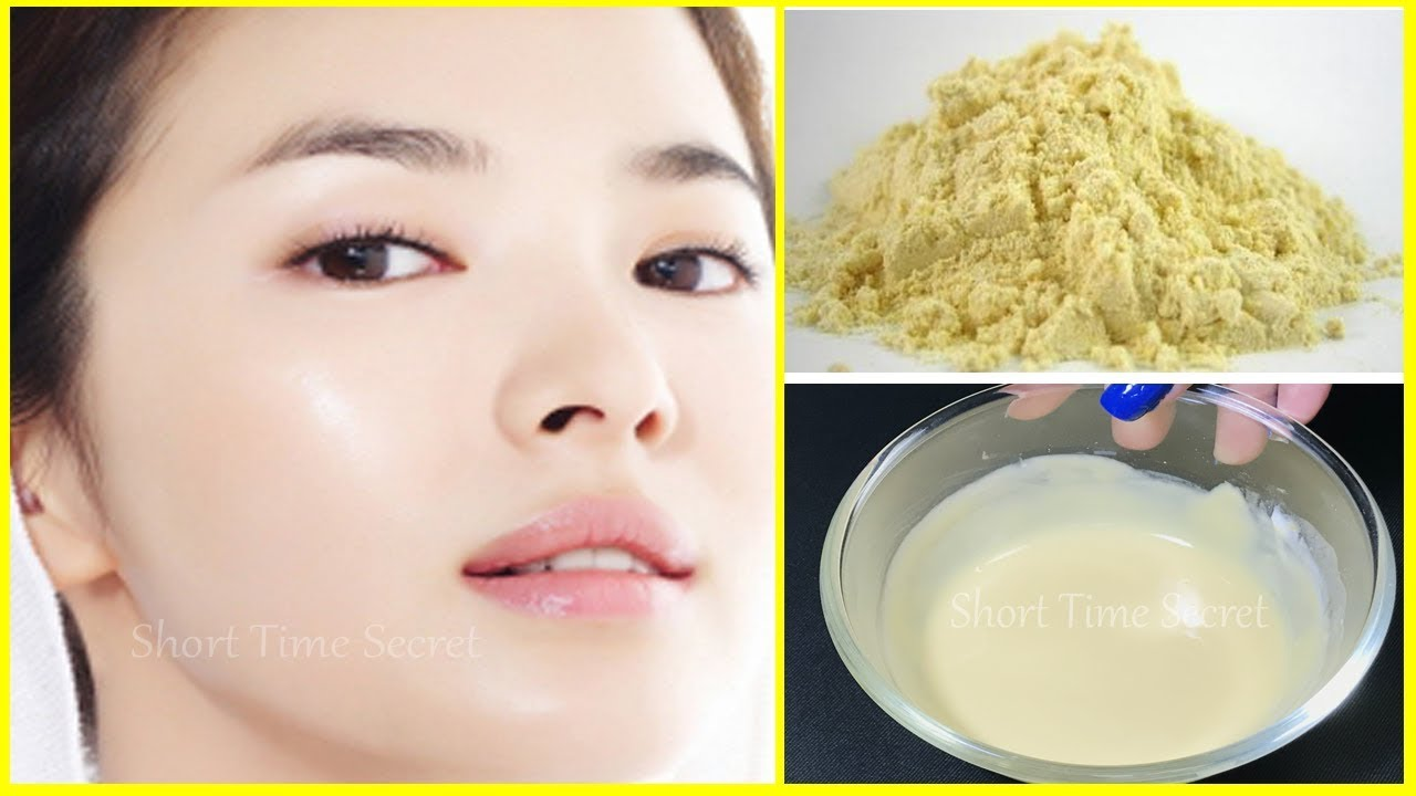 How to remove tan with gram flour Fairness with gram flour