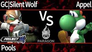Paragon PM - GC | Silent Wolf (Fox, Wolf) vs Appel (Yoshi) - Pools