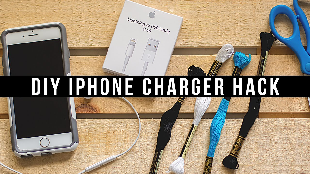 Giveaway iphone charger cable