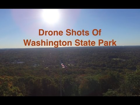 DJI Phantom 3 Aerial Shots of Washington Rock State Park