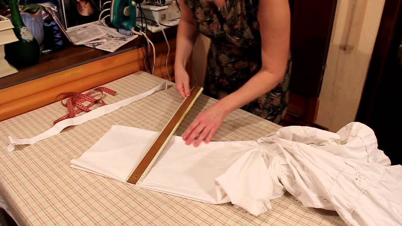 из юбки зделать платье: