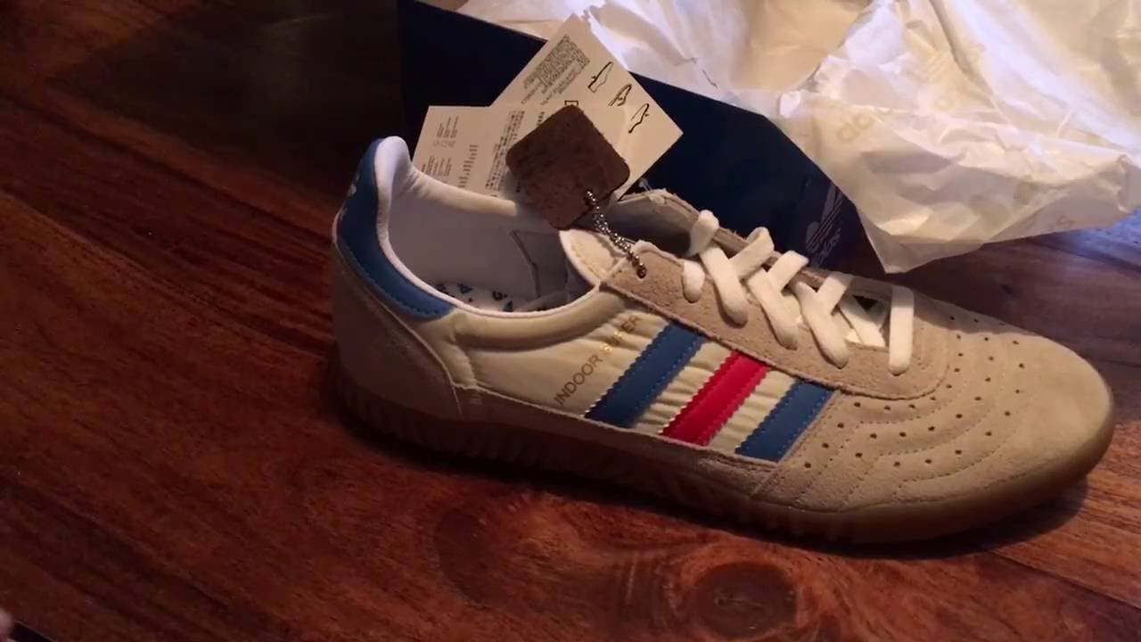 590656c68dd0 Adidas Indoor Super Spzl unboxing - YouTube
