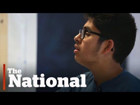 Teen with Autism Becomes Art Sensation