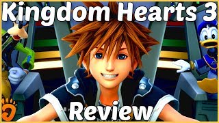 Review: Kingdom Hearts 3 (Reviewed on PS4, also on Xbox One) (Video Game Video Review)