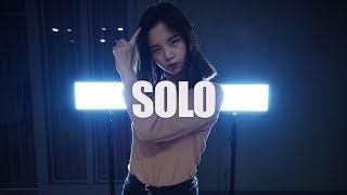 Gambar cover 제니 JENNIE 솔로 SOLO Dance Cover 분당무브댄스학원 오디션반