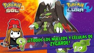 Guía: ¡Todos los núcleos y células de ZYGARDE! - Pokémon Sol y Luna