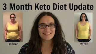 3 Month Keto Diet Weight Loss Update - Low Carb Success - Before and After Pictures