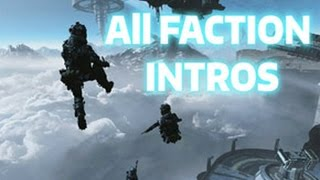 TITANFALL 2 - ALL FACTION INTROS (MRVN and DROZ links are below)