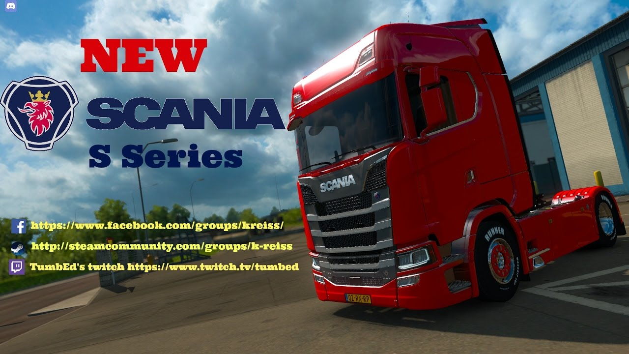 ets2 scania s series single player mod youtube. Black Bedroom Furniture Sets. Home Design Ideas