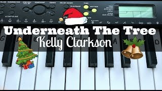 Underneath The Tree - Kelly Clarkson | Easy Keyboard Tutorial With Notes (Right Hand)