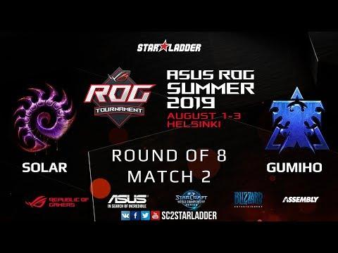 2019 Assembly Summer Ro8 Match 2: Solar (Z) Vs GuMiho (T)