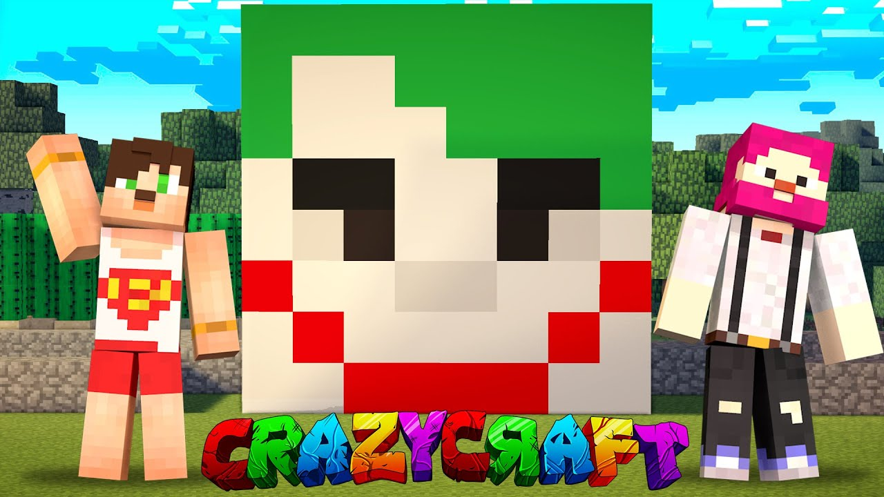 CRAZY CRAFT KÖTÜLERİN JOKER EVİ #1 Minecraft Crazy Craft 2