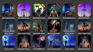 Siren Head Scary Horror Forest Story, Siren Head Scary Ghost Games, Siren Head Horror Survival...