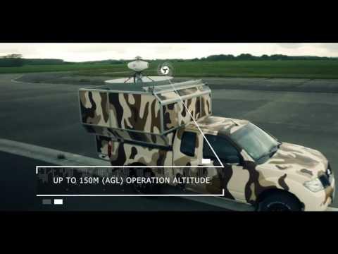 ECA Group UAW tethered UAV Express pickup