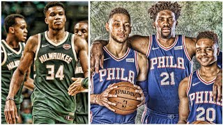 GIANNIS LOOKS UNSTOPPABLE! THE SIXERS FINALLY PLAY TOGETHER   NBA HIGHLIGHTS thumbnail