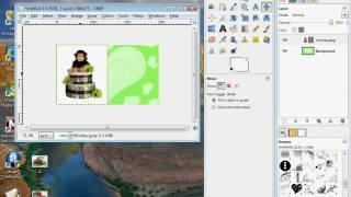 GIMP خلفية بيضاء إزالة البرنامج التعليمي
