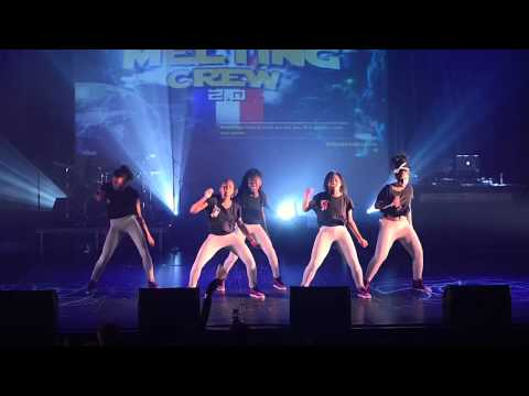 PERFORMANCE MELTING CREW 2 0  Les BABYZ DANCE HALL