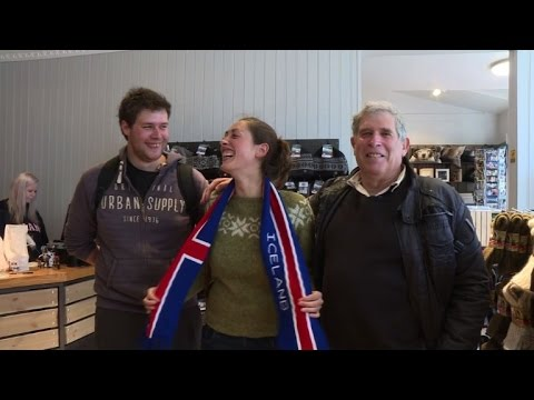 Euro 2016: Icelanders flock to France, tourists flock to Iceland
