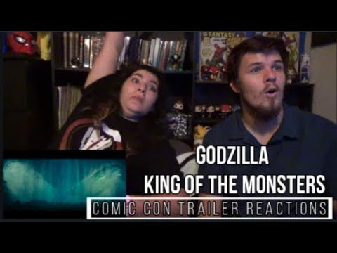 Godzilla King of the Monsters Comic Con Trailer Reactions