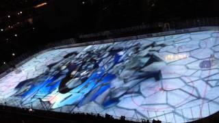 Динамо Москва - Металлург Мг Лазерное шоу на льду