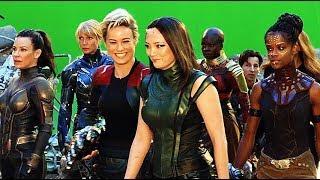 Avengers Endgame A-FORCE Behind The Scenes Bonus Clip