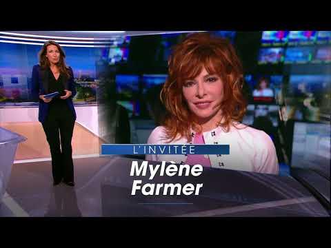 JT TF1 20H 11 Mars 2018 Invitée Mylène Farmer + Sujet Claude François
