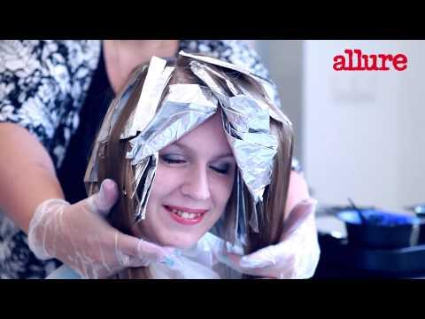Как сделать эффект выгоревших волос