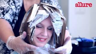 видео Эффект выгоревших волос на темных волосах фото