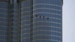 Window Cleaning Burj Dubai