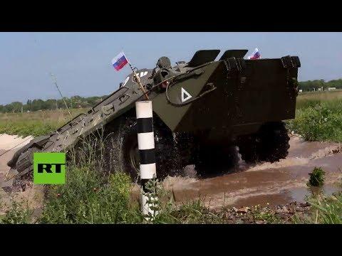 Unidades antiaéreas de Rusia participan en la competición 'Clear Sky' 2018