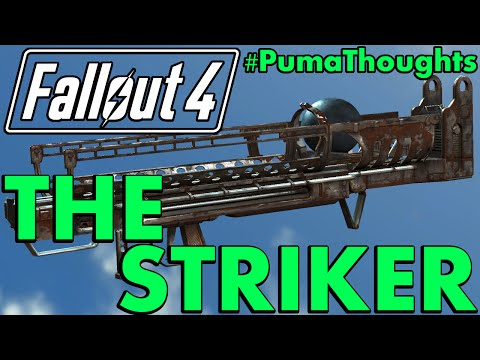 FALLOUT 4: Far Harbor DLC - The Striker Fat Man Launcher Analysis, Review and Location #PumaThoughts