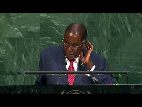 ONU - Discours de Robert MUGABE, Président du Zimbabwe, 72e Assemblée Générale