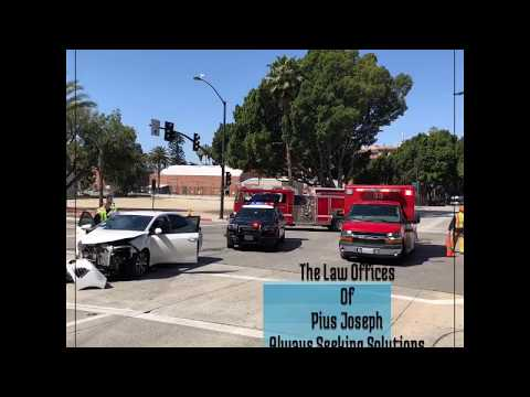 The Law Offices of Pius Joseph - Pasadena Car Accidents