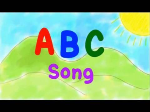 English alphabet a song
