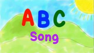 It's the classic ABC song with big and small letters. Arranged and ...