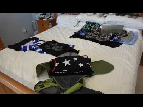 Packing for Disneyworld & a Cruise (with eagle creek packing cubes)