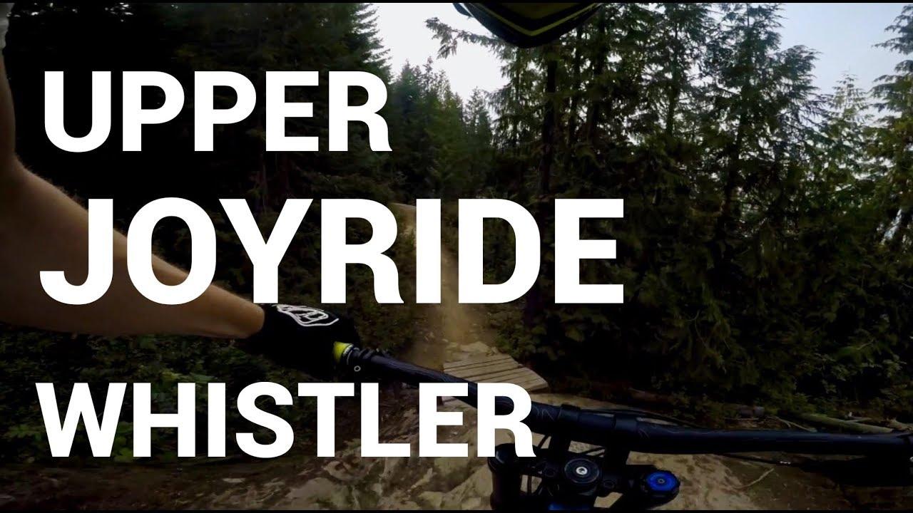 Double Black Rock Rolls Upper Joyride Whistler Bike Park