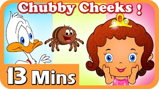 Chubby Cheeks  | Plus Lots More Nursery Rhymes | 13 Mins Short Compilation For Kids from Magicbox