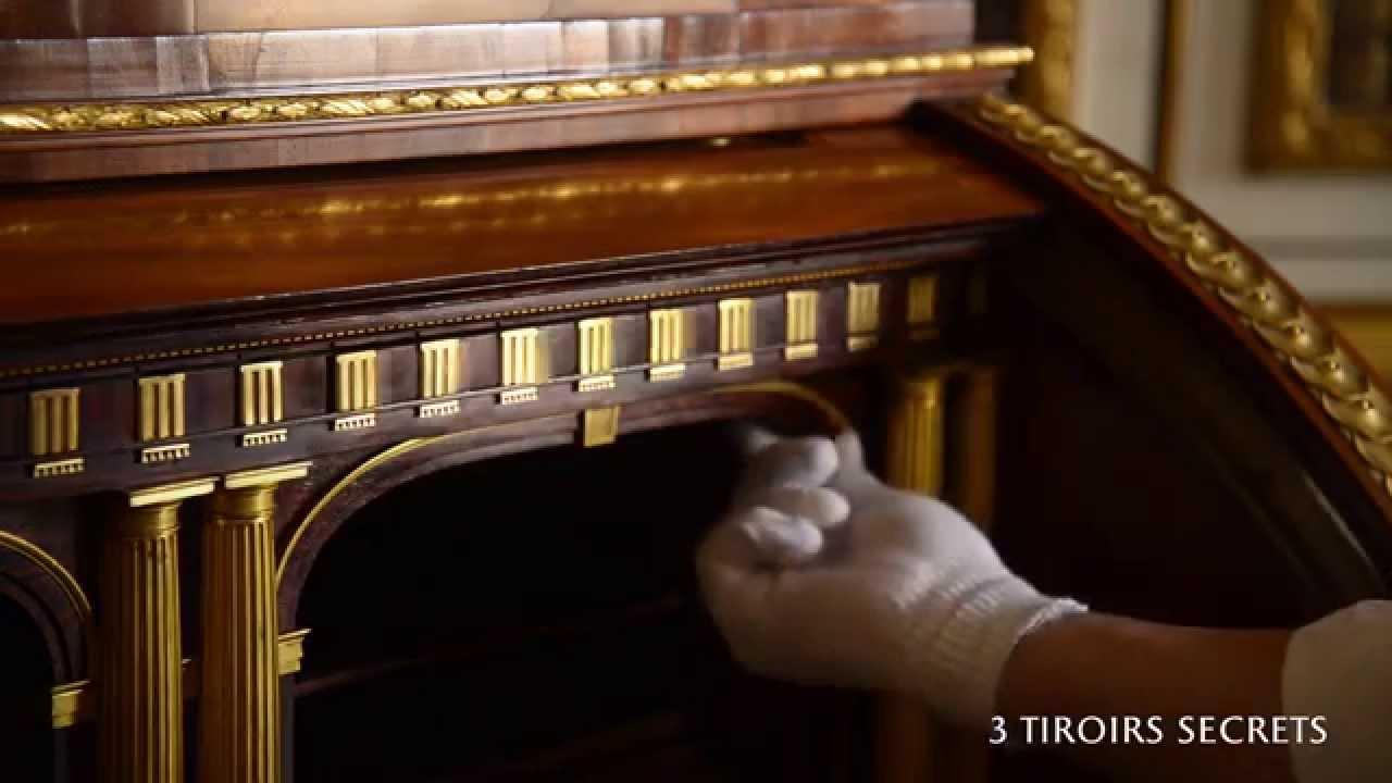 Secr taire cylindre m canique youtube for Meuble avec cachette secrete