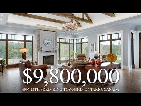 $9,800,000 - King Country Living At 4995 15th Sdrd, King Township, Ontario, Canada
