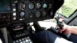 Décollage vu du cockpit