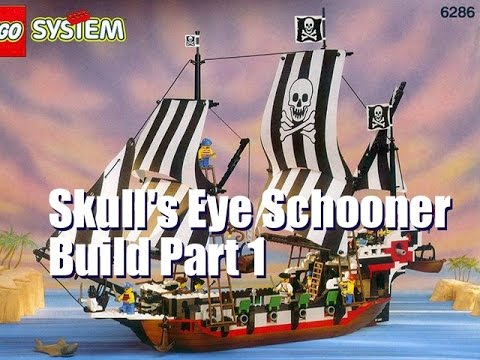 6286 Skulls Eye Schooner Build Part 1 Tutorial Tuesday Youtube