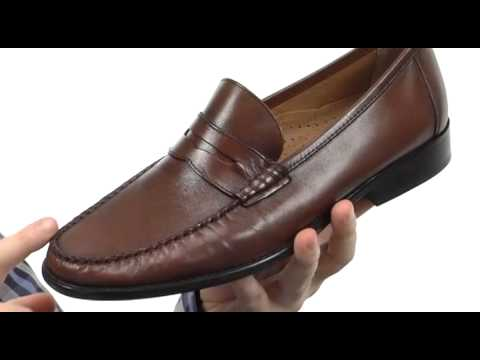 2e75921be07 Florsheim Brookfield Penny SKU   8202665 - YouTube