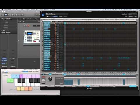 Logic Pro X - Video Tutorial 51 - Ultrabeat (PART 1) Sequencing and Sampling