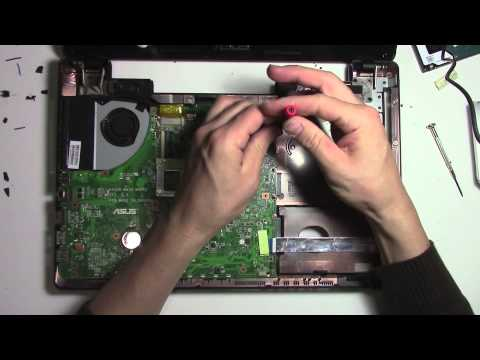 How to open and fix an Azus laptop – no power