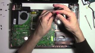 How to open and fix an Azus laptop - no power