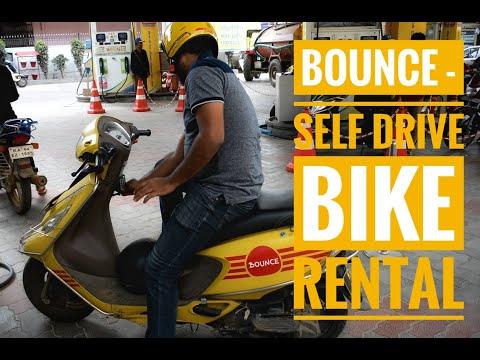 Bounce - Self Drive Bike Rental || How To Use Bounce Bike || Bangalore 2019