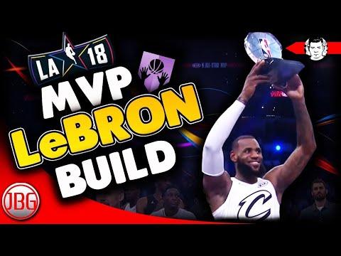 NBA All-Star MVP 2018 LeBron James Archetype for MyCAREER !