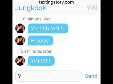 [Texting imagine] Y/N who confess her LOVE to Jungkook because
