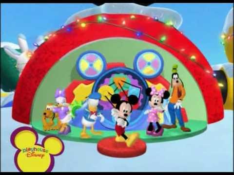 La casa de mickey mouse mickeydanza navidad youtube - La casa de la navidad ...